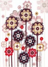 Набор для вышивки в смешанной технике Легкость бытия , , 195.00грн., ВТ-1017, Cristal Art, Натюрморты