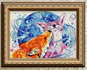 Алмазная мозаика Палитра чувств. Лисички Art Solo АТ3036 - 372.00грн.