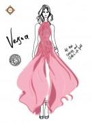 Схема для вышивки бисером на атласе Дом Моды Versace