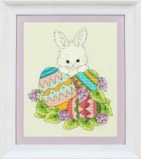 Набор для вышивки нитками Пасхальный заяц