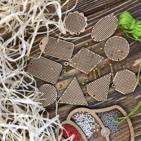 Набор заготовок для вышивания по дереву Волшебная страна FLSW-004 - 210.00грн.