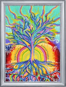 Набор для вышивки бисером Солнечное дерево