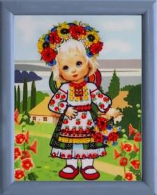Схема для вышивки бисером Украиночка Баттерфляй (Butterfly) СМ045 - 13.00грн.