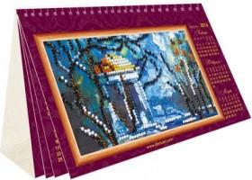 Набор для вышивки бисером Календарь - Пейзажи Абрис Арт АК-002 - 179.00грн.