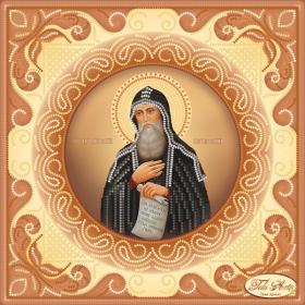 Схема вышивки бисером на атласе Святой Преподобный Антоний Печерский Tela Artis (Тэла Артис) ТИС-020 - 75.00грн.