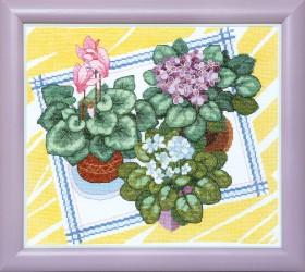 Набор для вышивки крестом Зимний сад