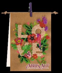 Набор-флажок для вышивки бисером на холсте Для тебя Абрис Арт АТ-001 - 87.00грн.