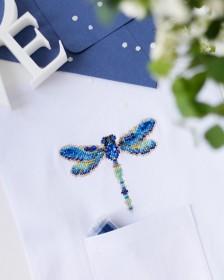 Набор для вышивки крестом на одежде Стрекоза - 1 Абрис Арт АНО-016 - 156.00грн.