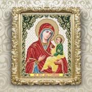 Рисунок на ткани для вышивки бисером Богородица Грузинская