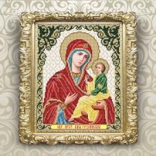 Рисунок на ткани для вышивки бисером Богородица Грузинская Art Solo VIA4258