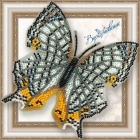 Набор для вышивки бисером на прозрачной основе Бабочка Цирестис Нивея Вдохновение BGP-039 - 155.00грн.