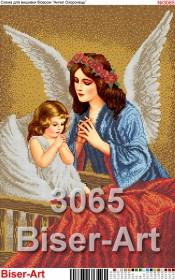 Схема вышивки бисером на габардине Ангели-охоронеці снів Biser-Art 40х60-3065 - 125.00грн.