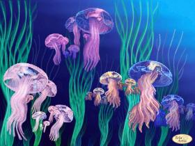 Схема вышивки бисером на атласе Медузы