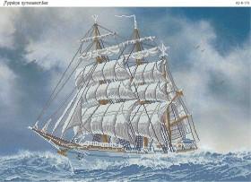 Схема для вышивки бисером на габардине Морское путешествие Акорнс А2-К-175 - 144.00грн.