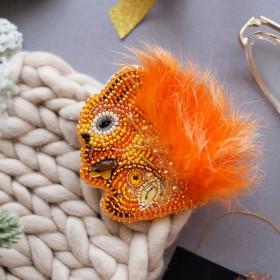 Набор для вышивки украшения Пушистая