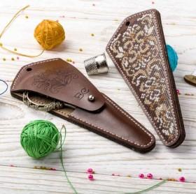 Набор для создания чехла для ножниц
