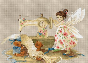 Набор для вышивки крестом Фея рукодельница Luca-S В1116 - 384.00грн.