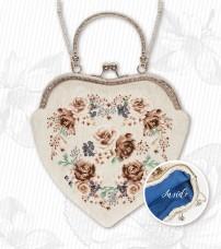 Косметичка для вышивки крестом Цветы Luca-S BAG021
