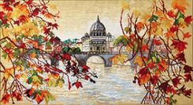 Набор для вышивания крестом Шелест листьев Cristal Art ВТ-240 - 353.00грн.