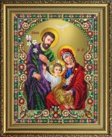 Набор для вышивки бисером Святое семейство Картины бисером Р-402 - 960.00грн.