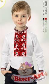 Заготовка для выишивки сорочки для мальчика на льне Biser-Art 1269 - 240.00грн.