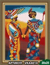 Рисунок на ткани для вышивки бисером Африка Art Solo VKA4014