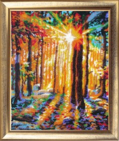 Набор для вышивки бисером Солнечные лучи 2