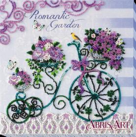 Набор-миди для вышивки бисером на натуральном художественном холсте Романтический сад