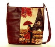 Сумка для вышивки бисером Париж