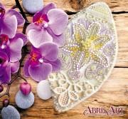 Набор для вышивки бисером украшения на натуральном художественном холсте Маленькая загадка