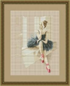 Набор для вышивания нитками Балерина у окна OLANTA VN-055 - 670.00грн.