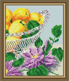 Набор для выкладки алмазной мозаикой В хрустале. Абрикосы Диптих 2 Art Solo АТ5552 - 248.00грн.