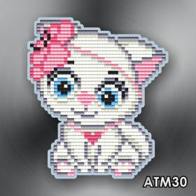 Магнит для выкладки алмазной мозайкой Кошечка Art Solo АТМ30 - 96.00грн.