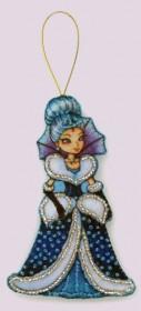 Набор для изготовления игрушки из фетра для вышивки бисером Снежная королева Баттерфляй (Butterfly) F118 - 54.00грн.
