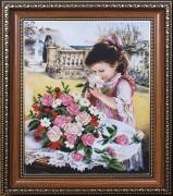 Набор для вышивки бисером Маленькая леди