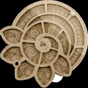 Органайзер для бисера с крышкой Волшебная страна FLZB-035 - 130.00грн.