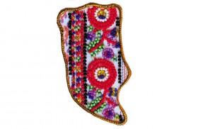 Набор - магнит для вышивки бисером Карта Украины Львовская область, , 72.00грн., АМК-013, Абрис Арт, Украина