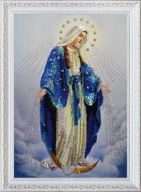 Набор для вышивки бисером Пресвятая Дева Мария Картины бисером Р-283 - 601.00грн.
