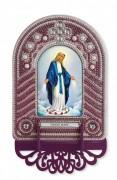 Набор для вышивки иконы с рамкой-киотом Virgin Mary (Дева Мария)