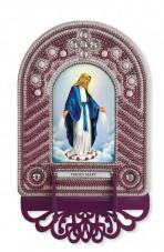 Набор для вышивки иконы с рамкой-киотом Virgin Mary (Дева Мария) Новая Слобода (Нова слобода) ВК1023