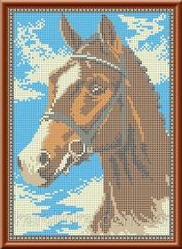 Набор для вышивки бисером Лошадь