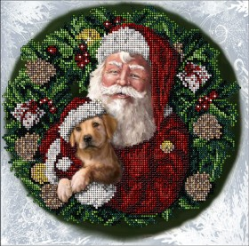 Набор для вышивания бисером Рождественские истории 25