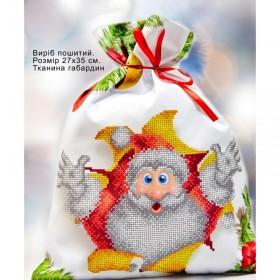 Пошитый мешочек для подарочков Домовой Biser-Art 23005 - 106.00грн.