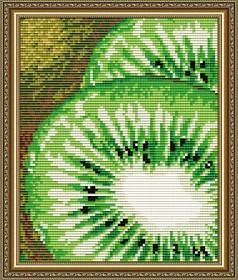 Набор для выкладки алмазной техникой Киви, , 280.00грн., АТ5574, Art Solo, Натюрморты