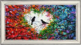 Набор для вышивки бисером Песня любви (по картине О. Дарчук)
