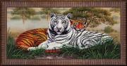 Набор для вышивки бисером Тигры