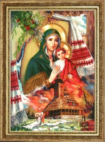 Набор для вышивки бисером Богородица Заступница