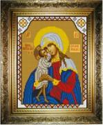 Рисунок на холсте для вышивки бисером Богородица Взыскание Погибших