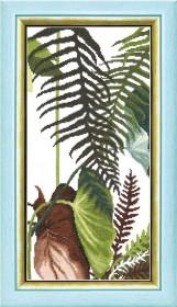 Набор для вышивания крестом Crystal Art Триптих Сквозь жаркие тропики Cristal Art ВТ-169 - 207.00грн.