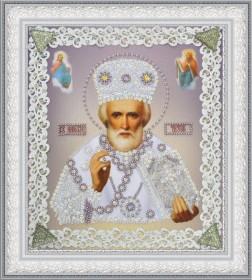 Набор для вышивки бисером Икона Святителя Чудотворца